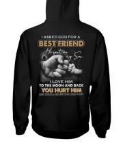 I asked God for a best friend Hooded Sweatshirt thumbnail