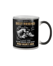 I asked God for a best friend Color Changing Mug thumbnail