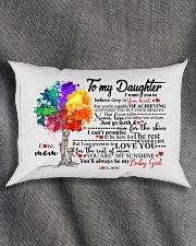 MOM TO DAUGHTER Rectangular Pillowcase aos-pillow-rectangle-front-lifestyle-1