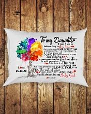 MOM TO DAUGHTER Rectangular Pillowcase aos-pillow-rectangle-front-lifestyle-2
