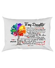 MOM TO DAUGHTER Rectangular Pillowcase back