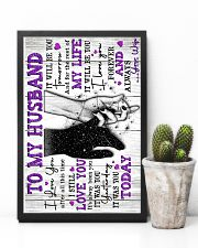 To My Husband - Poster 16x24 Poster lifestyle-poster-8