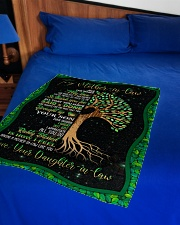 """To My Mother-in-law - Tree - Fleece Blanket Small Fleece Blanket - 30"""" x 40"""" aos-coral-fleece-blanket-30x40-lifestyle-front-02"""