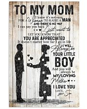 SON TO MOM 16x24 Poster front
