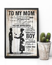 SON TO MOM 16x24 Poster lifestyle-poster-8