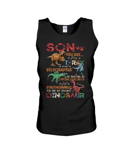 TO MY SON - DINOS - FAVORITE DINOSAUR