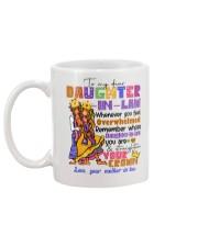 DAUGHTER-IN-LAW - HIPPIE - STRAIGHTEN YOUR CROWN Mug back