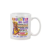 DAUGHTER-IN-LAW - HIPPIE - STRAIGHTEN YOUR CROWN Mug front