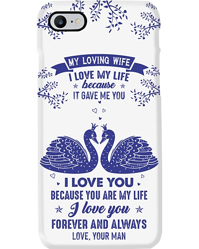 TO MY WIFE - SWAN - I LOVE YOU