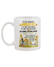 AUNT TO NIECE Mug back