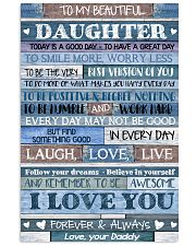 DADDY TO DAUGHTER 16x24 Poster front