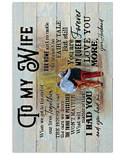 Wife - Grow Old Together - When We Get To The End 16x24 Poster front