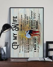 Wife - Grow Old Together - When We Get To The End 16x24 Poster lifestyle-poster-2