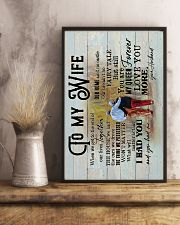 Wife - Grow Old Together - When We Get To The End 16x24 Poster lifestyle-poster-3