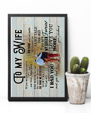 Wife - Grow Old Together - When We Get To The End 16x24 Poster lifestyle-poster-8