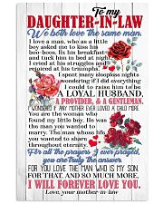 DAUGHTER-IN-LAW - ROSE - WE BOTH LOVE THE SAME  16x24 Poster front