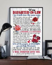 DAUGHTER-IN-LAW - ROSE - WE BOTH LOVE THE SAME  16x24 Poster lifestyle-poster-2