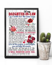 DAUGHTER-IN-LAW - ROSE - WE BOTH LOVE THE SAME  16x24 Poster lifestyle-poster-8