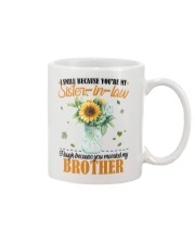 TO MY SISTER IN LAW Mug front