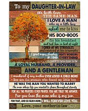 TO MY DAUGHTER-IN-LAW - FAMILY TREE - I LOVE YOU 16x24 Poster front