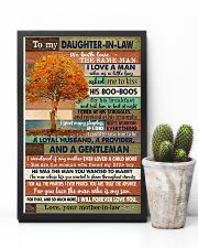 TO MY DAUGHTER-IN-LAW - FAMILY TREE - I LOVE YOU 16x24 Poster lifestyle-poster-8