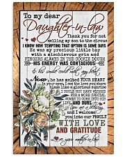 TO DAUGHTER-IN-LAW - PROTEA - YOU ARE A BLESSING 16x24 Poster front