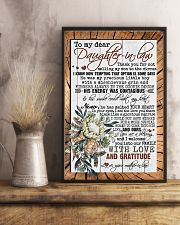 TO DAUGHTER-IN-LAW - PROTEA - YOU ARE A BLESSING 16x24 Poster lifestyle-poster-3