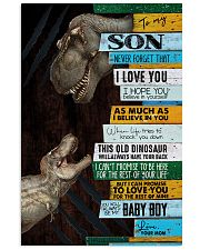 Mom To Son - This Old Dinosaur  11x17 Poster thumbnail