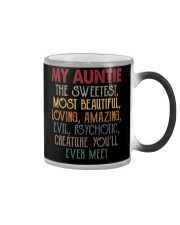 My auntie Color Changing Mug thumbnail