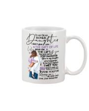 BONUS DAD TO BONUS DAUGHTER Mug front