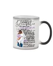 BONUS DAD TO BONUS DAUGHTER Color Changing Mug thumbnail