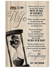 To My Wife - Side By Side - You Are My Everything 16x24 Poster front