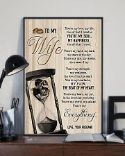 To My Wife - Side By Side - You Are My Everything 16x24 Poster lifestyle-poster-2