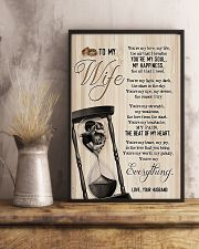 To My Wife - Side By Side - You Are My Everything 16x24 Poster lifestyle-poster-3