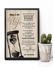 To My Wife - Side By Side - You Are My Everything 16x24 Poster lifestyle-poster-8