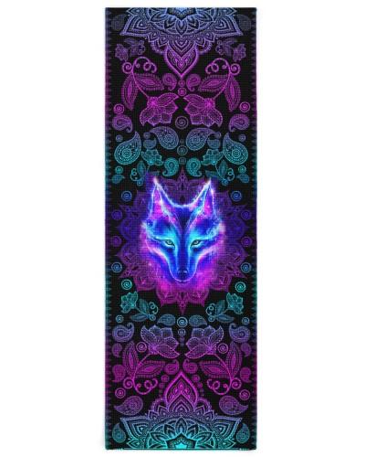 Daughter-in-law - Yoga Mat - Wolf - Mandala