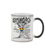 TO MY PARTNER IN LIFE Color Changing Mug thumbnail