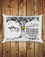TO MY PARTNER IN LIFE Rectangular Pillowcase aos-pillow-rectangle-front-lifestyle-2