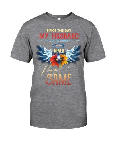 T-SHIRT - MY ANGEL HUSBAND - WINGS - THE SAME