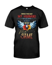 T-SHIRT - MY ANGEL HUSBAND - WINGS - THE SAME Classic T-Shirt front