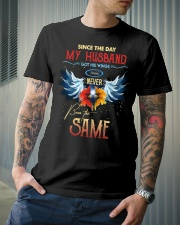 T-SHIRT - MY ANGEL HUSBAND - WINGS - THE SAME Classic T-Shirt lifestyle-mens-crewneck-front-6
