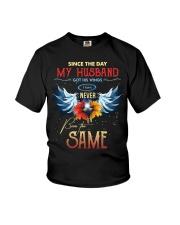 T-SHIRT - MY ANGEL HUSBAND - WINGS - THE SAME Youth T-Shirt thumbnail