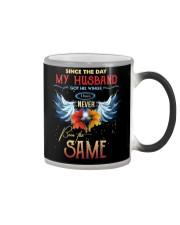 T-SHIRT - MY ANGEL HUSBAND - WINGS - THE SAME Color Changing Mug thumbnail