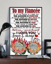 TO MY FIANCE'E 16x24 Poster lifestyle-poster-2