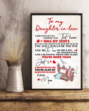 MOM TO DAUGHTER IN LAW 16x24 Poster lifestyle-poster-3
