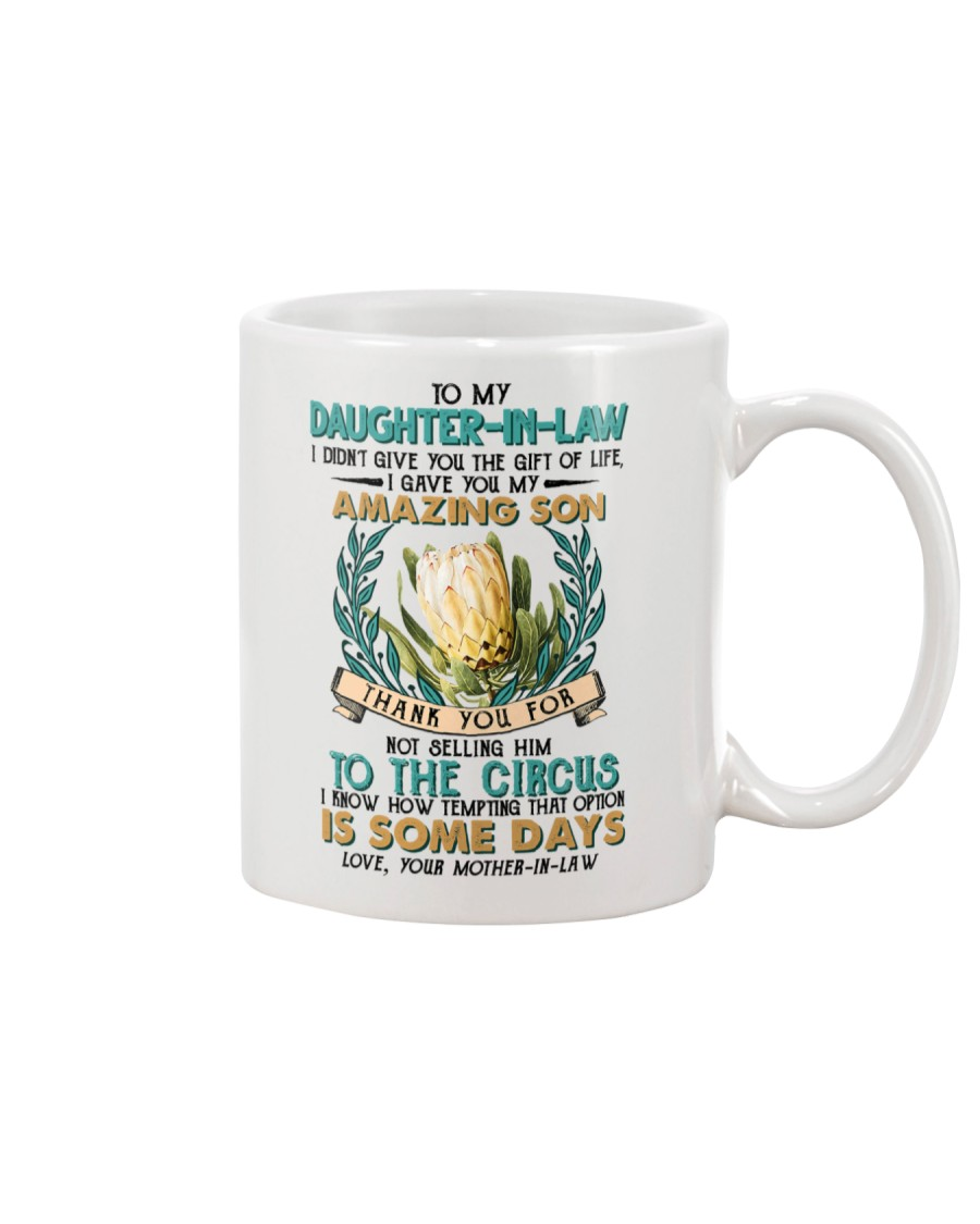 TO MY DAUGHTER-IN-LAW - PROTEA FLOWER - CIRCUS Mug