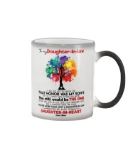 MOM TO DAUGHTER IN LAW Color Changing Mug thumbnail