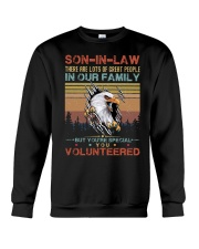 SON-IN-LAW - EAGLE - VINTAGE - YOU VOLUNTEERED Crewneck Sweatshirt thumbnail