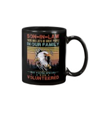 SON-IN-LAW - EAGLE - VINTAGE - YOU VOLUNTEERED Mug thumbnail