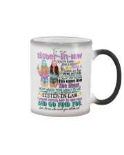 TO MY SISTER-IN-LAW - GIRLS - MORE LIKE A SISTER Color Changing Mug thumbnail